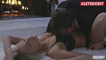LETSDOEIT - Amazing Erotic Sex By The Fireplace With Emma Hix & Dylan Snow