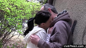 Petite Girl With Puffy Nipples Gets Fucked By Older Guy