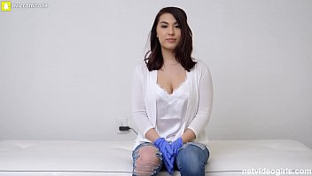 19 Year Old Korean Girl With PERFECT Big Tits Fucks To Get Into Calendar thumbnail