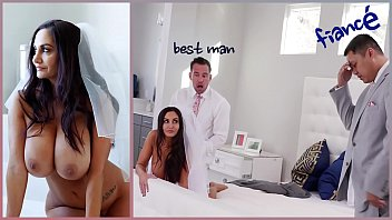 BANGBROS - Big Tits MILF Bride Ava Addams Fucks The Best Man 12 min