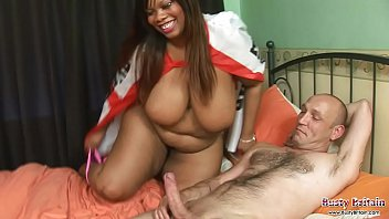 Busty Cookie Fucks For England