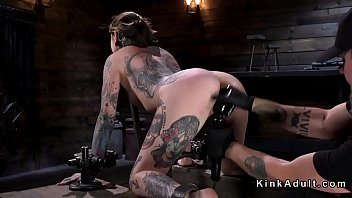 Alt slave whipped bound in metal device