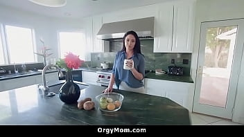 Stepson Allowed To Play With Mom's Tits
