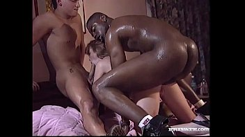 Vintage interracial xxx videos - Interracial threesome with magerita
