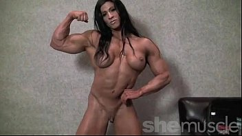 Hairy body builder - Angela salvagno naked female bodybuilder strip