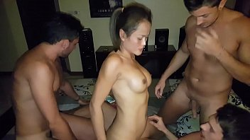 Thai wife shared with 3 boys