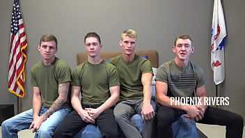 """Savage Military Foursome Bareback Fuck Each Other - ActiveDuty <span class=""""duration"""">10 min</span>"""