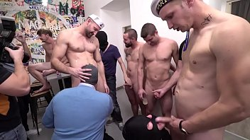 Club video gay 30 guys get into jizzy situation