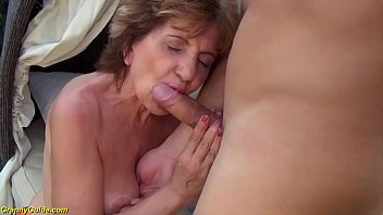 Busty 76 Years Old Step Mom Brutal Destroyed By Big Dick