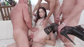 Tabitha Poison 4on1 Balls Deep Anal, DP, Gapes, Pee d. and Swallow GIO1470