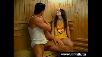 Femke gets fucked by her gym teacher