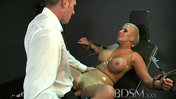 Boob master Bdsm xxx big breasted sub has her hole filled by strong dominant master
