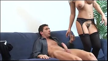 Busty Melissa Conti and her hairy pussy