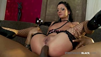PrivateBlack.com – Thin Inked Destiny Has Interracial Orgy!