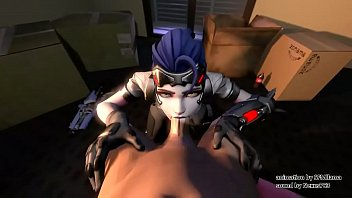 Spider woman hentai Widowmaker talon overwatch deepthroat - sfmllama
