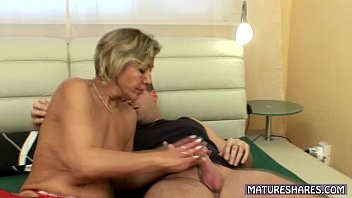 Mature Blonde Has Her Cunt Fingered
