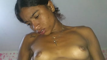 Little girl with the golden breast