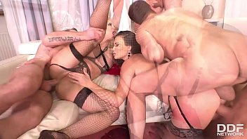 Mini Gangbang With Barbie Sins and Jasmine Jae