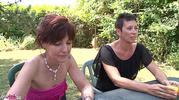 Grandmas suck big black cocks and let them fuck their old twats with lots of cum from the BBC