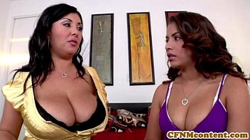 Busty cfnm babe Jaylene in a foursome