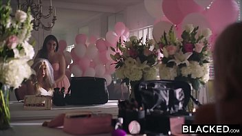 BLACKED Riley Steele Takes BBC For The First Time! [웨딩신부 bride]