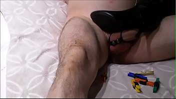 MISTRESS SOPHIA PLAYING WITH HER SUB'_ COCK