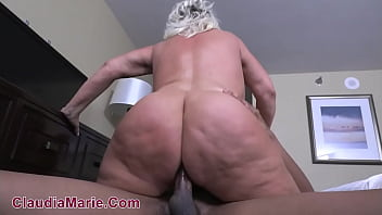 cellulite covered fat white ass fucked anal by black bull min