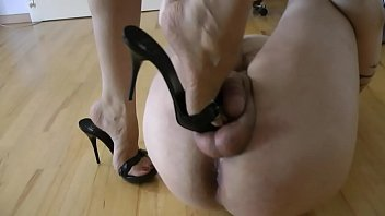 Handsome male ass and balls Bound and tortured shoeslave