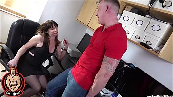 LUKE HARDY - MILF Sara Sucks And Fucks Cock at Work