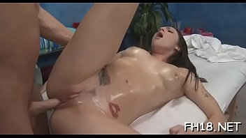 Schlong is good for a good cheerful barely legal brunette maid Bailey Blue's blowjob