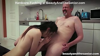 Old Meat Stick covered in Pussy Juice 10 min