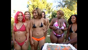 Big booty ebony orgy think