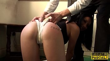 Tattooed british submissive fucked roughly