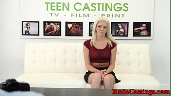 b. casting audition for hardfucked teen