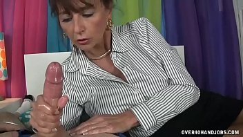 Son gives mom a facial - Milf step mom loves when step son hard