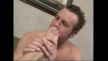Busty MILF gives dude an expert footjob before they fuck