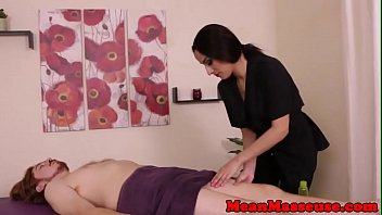 CBT masseuse ruined patients orgasm