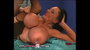 Big tits and hardcore pounding for sexy MILF babe! German Goo Girls