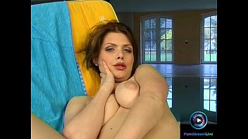 Katalin bravely gets naked to pet her kitty beside the pool wm love dolls