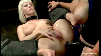 Porn felony Cherry torn is spanked, caned and is hungry for wet pussy when felony punishes a