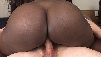 Amateur Black Teen Rides White Dick And Gets Creampied