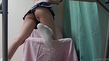 Japanese Schoolgirl Upskirt and Cameltoe