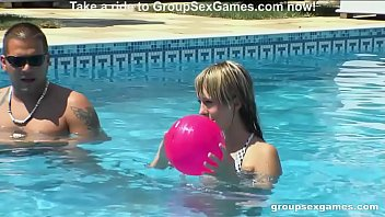 Hardcore Group Sex Pool Games