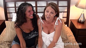 Two busty milf friends fuck and suck the same cock