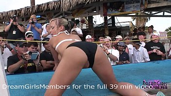 Brasilan bikini contest - Normal spring break bikini contest turns into wild freaky sex show
