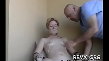 Lewd babe is playing with her twat