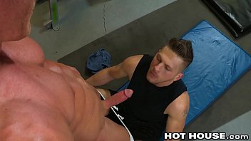 HotHouse Keep Ur Mouth Open During Sit-Up & Swallow My Dick!