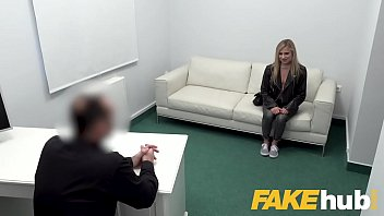 Fake Agent Cute blonde loves hardcore casting with big dick agent