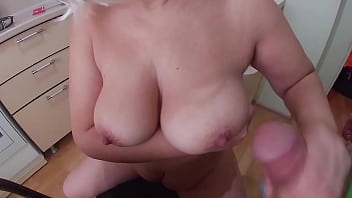 CoverBig ass anal sex and blowjob in the kitchen