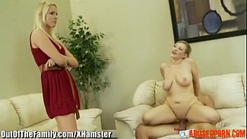Step-mom and Not Daughter Ride the Same Cock: Free Porn a6 - abuserporn.com video